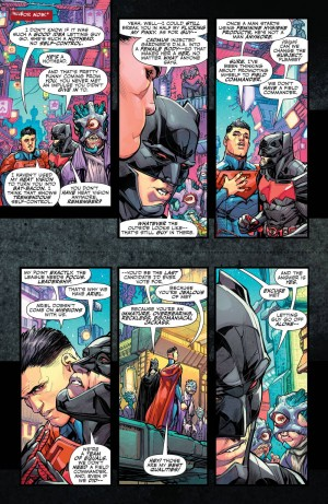 JUSTICE LEAGUE 3001 #1 review spoilers 5