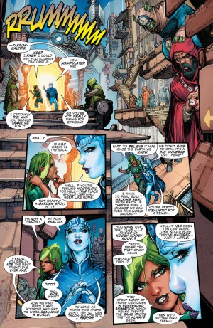 JUSTICE LEAGUE 3001 #1 review spoilers 6