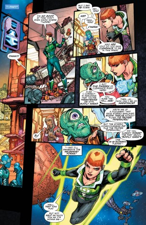 JUSTICE LEAGUE 3001 #1 review spoilers 7