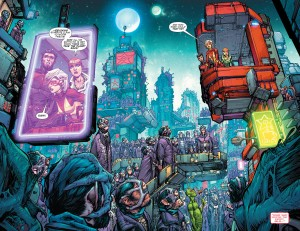 JUSTICE LEAGUE 3001 #1 review spoilers 9