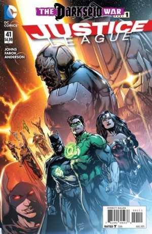 JUSTICE LEAGUE 41 review spoilers 1
