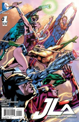 JUSTICE LEAGUE of AMERICA #1 review spoilers 1