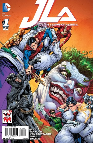 JUSTICE LEAGUE of AMERICA #1 review spoilers 2