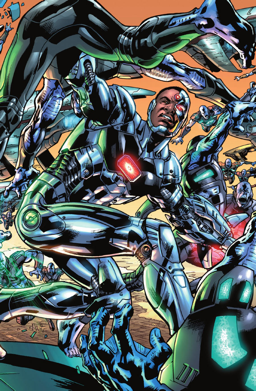dc you review  u0026 spoilers  justice league of america  1 by
