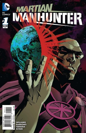 MARTIAN MANHUNTER 1 review spoilers 1