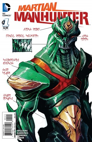 MARTIAN MANHUNTER 1 review spoilers 2