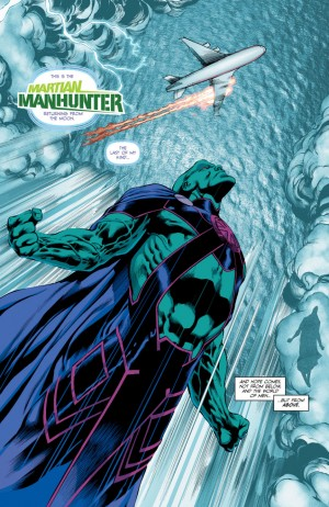 MARTIAN MANHUNTER 1 review spoilers 4
