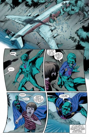 MARTIAN MANHUNTER 1 review spoilers 6