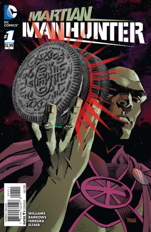 MARTIAN MANHUNTER 1 review spoilers 8