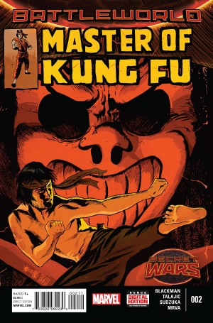 MASTER of KUNG-FU #2 review spoilers 1