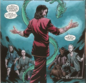 MASTER of KUNG-FU #2 review spoilers 4