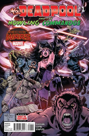 MRS. DEADPOOL and the HOWLING COMMANDOS #1 review spoilers 1