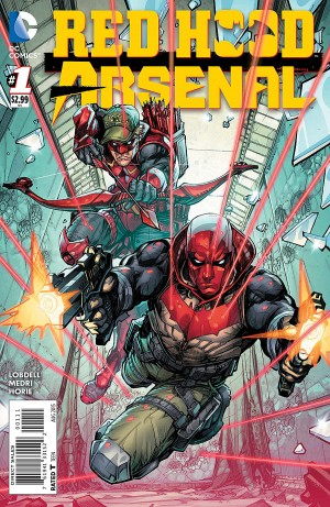 RED HOOD ARSENAL 1 review spoilers 1