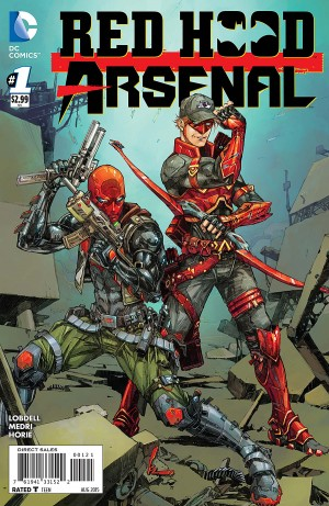 RED HOOD ARSENAL 1 review spoilers 2