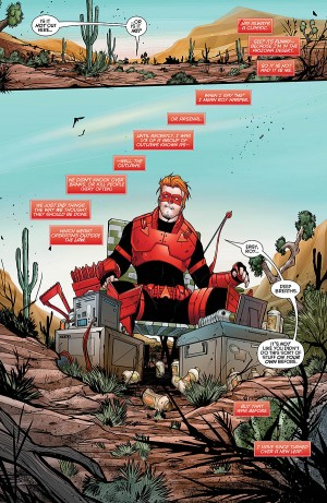 RED HOOD ARSENAL 1 review spoilers 3