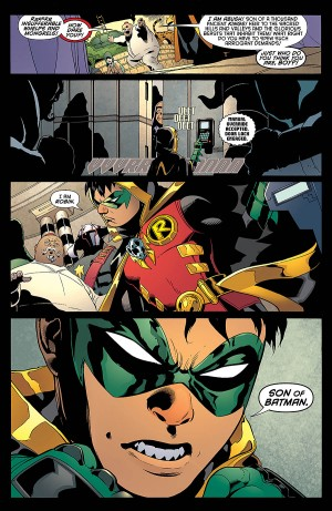 ROBIN, SON of BATMAN 1 review spoilers 3