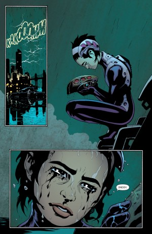 ROBIN, SON of BATMAN 1 review spoilers 4