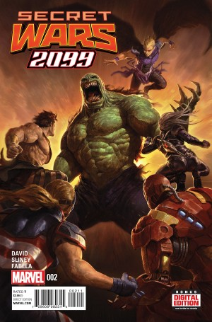 SECRET WARS 2099 #2 preview spoilers 1