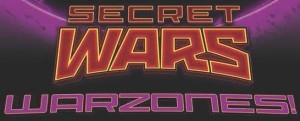 SECRET WARS - WARZONES logo