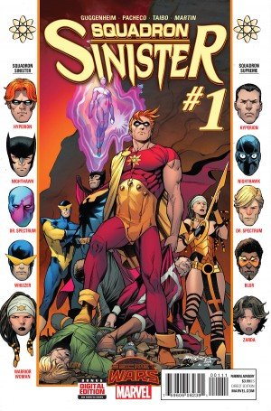 SQUADRON SINISTER #1 review spoilers 1