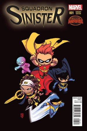 SQUADRON SINISTER #1 review spoilers 2