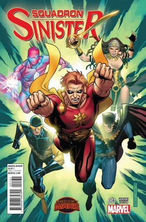 SQUADRON SINISTER #1 review spoilers 3