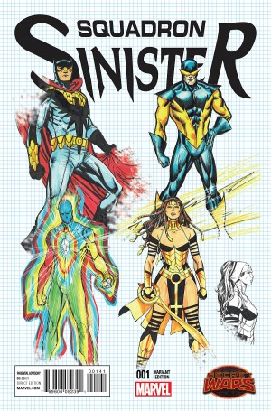 SQUADRON SINISTER #1 review spoilers 4