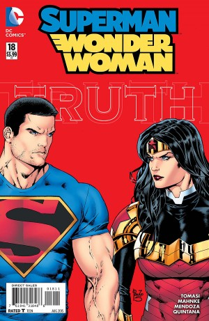 SUPERMAN WONDER WOMAN 18 review spoilers 1