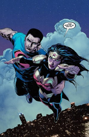 SUPERMAN WONDER WOMAN 18 review spoilers 3