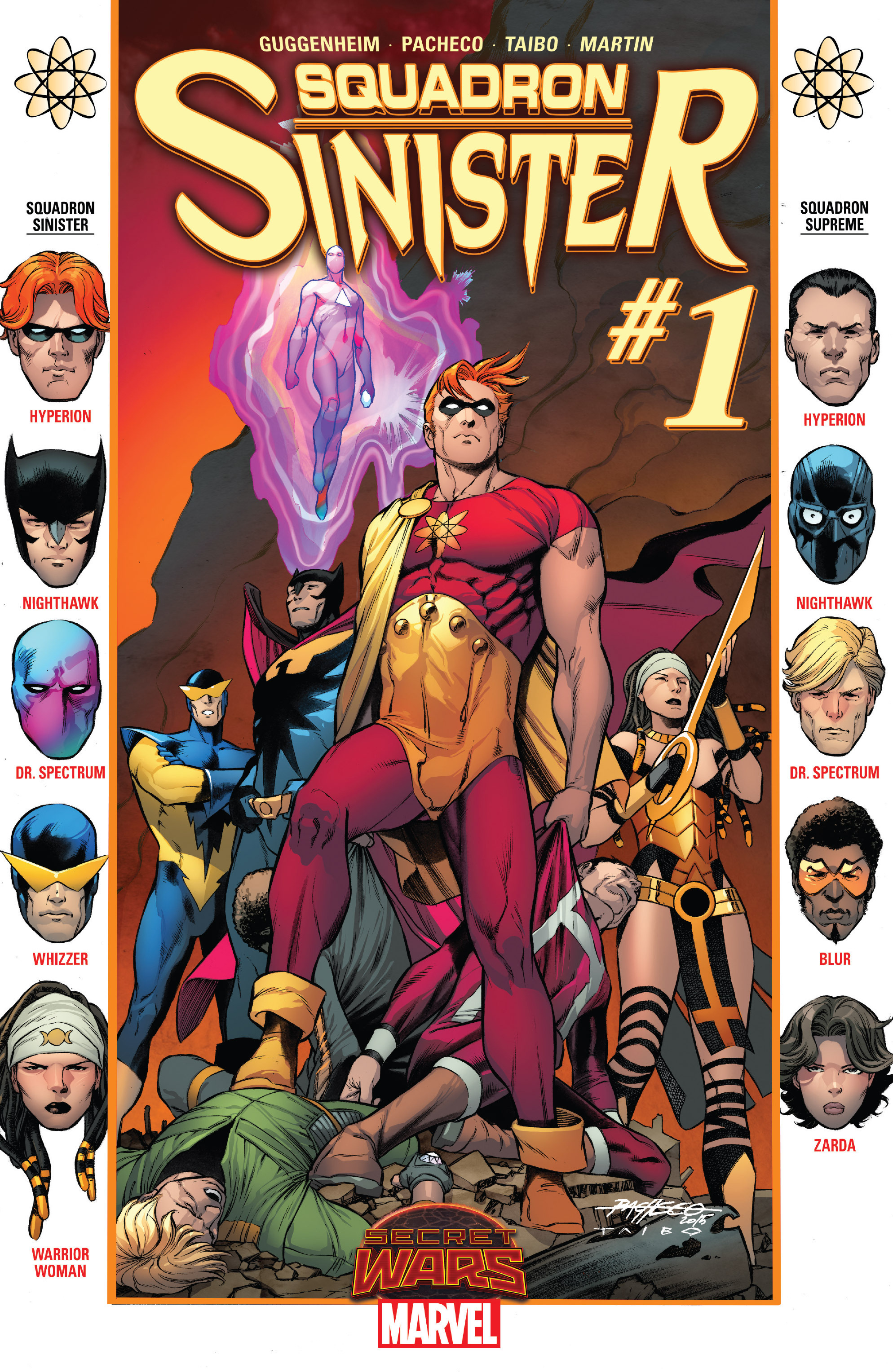 Squadron Sinister #1 Spoilers & Review: Rock Star Creative ...