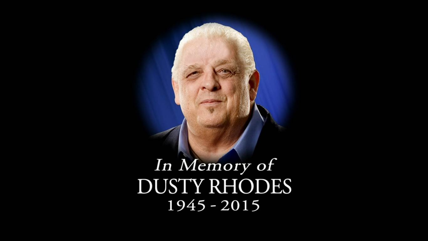 Tribute to Dusty Rhodes at Money in the Bank 2015 C