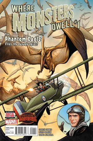 WHERE MONSTERS DWELL #1 review spoilers 1