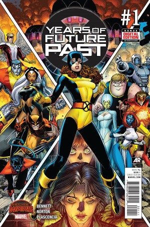 YEARS of FUTURE PAST #1 review spoilers 1