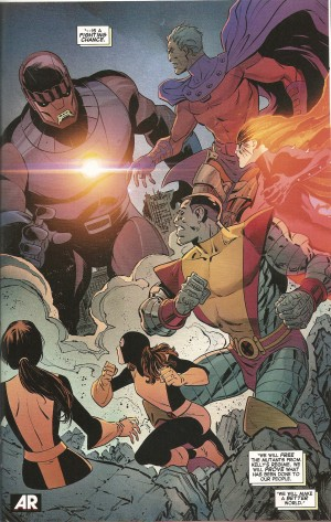 YEARS of FUTURE PAST #1 review spoilers 3