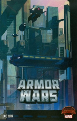 ARMOR WARS #3 review spoilers 2