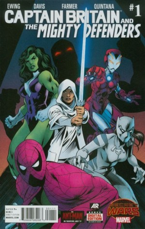 CAPTAIN BRITAIN and the MIGHTY DEFENDERS #1 review spoilers 1