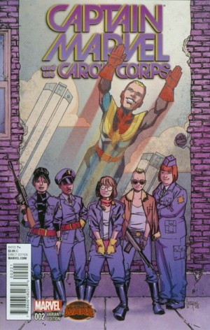 CAPTAIN MARVEL and the CAROL CORPS #2 review spoilers 2
