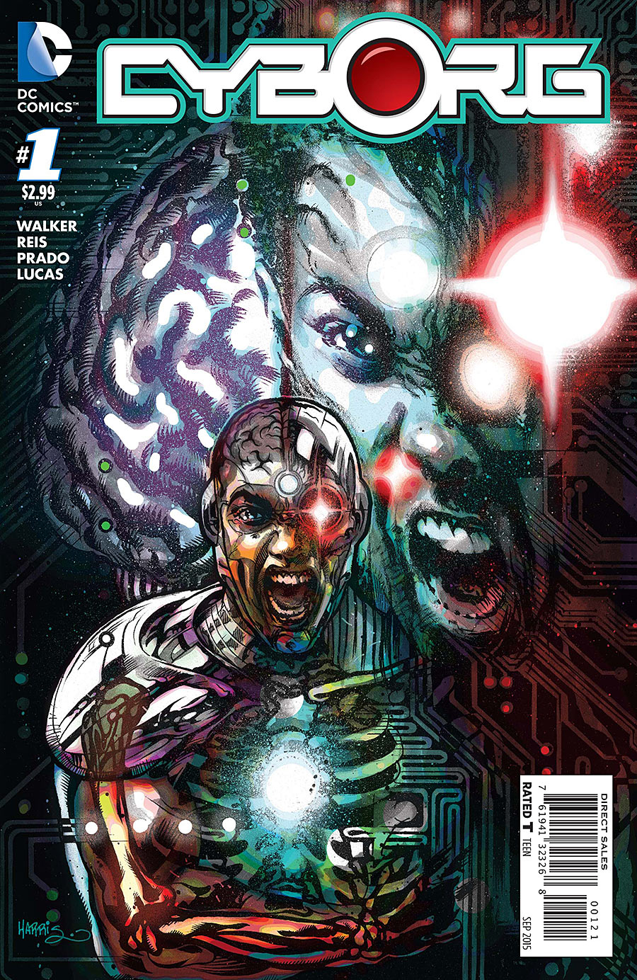 DC You Spoilers & Review: Cyborg #1 By David F. Walker ...