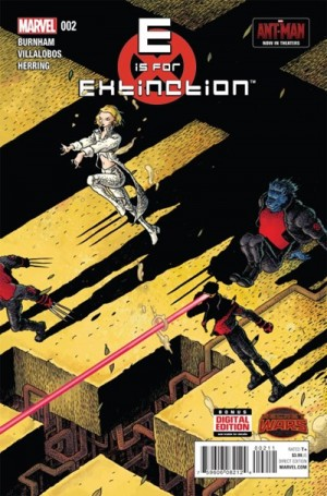E is for EXTINCTION #2 review spoilers 1