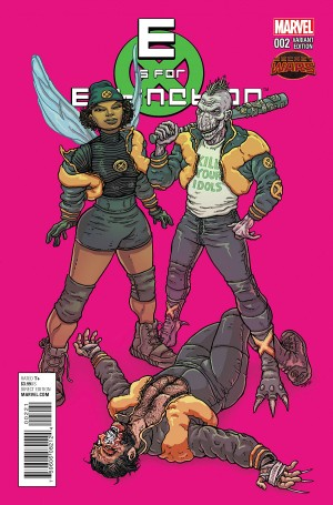 E is for EXTINCTION #2 review spoilers 2
