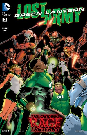 Green Lantern Lost Army #2 DC You Spoilers 1