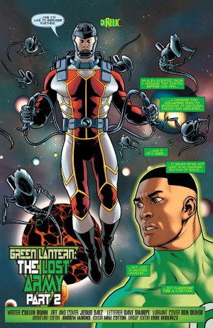 Green Lantern Lost Army #2 DC You Spoilers 11
