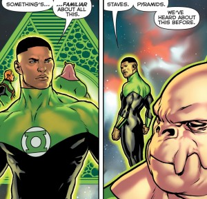 Green Lantern Lost Army #2 DC You Spoilers 6