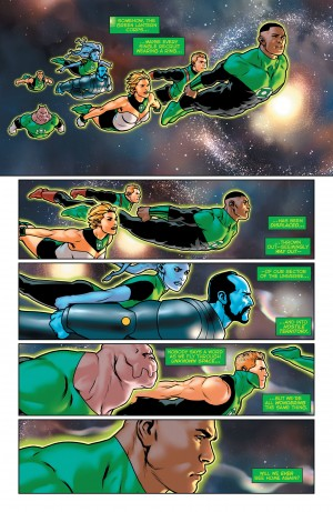 Green Lantern Lost Army #2 DC You Spoilers 8