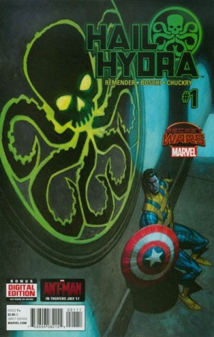 HAIL HYDRA #1 review spoilers 1