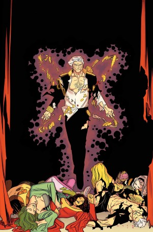 HOUSE of M #4 virgin cover