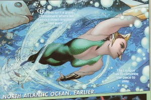 JUSTICE LEAGUE UNITED #11 pg. 3 panel 1
