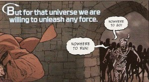 JUSTICE LEAGUE UNITED #11 pg. 9 panel 1