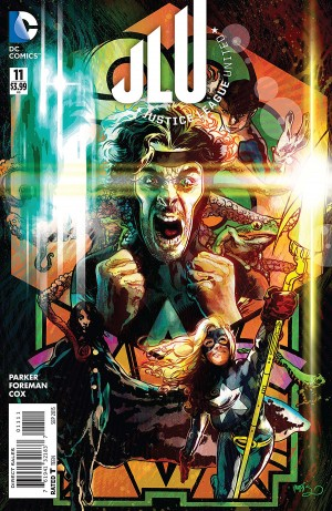 JUSTICE LEAGUE UNITED 11 review spoilers 1