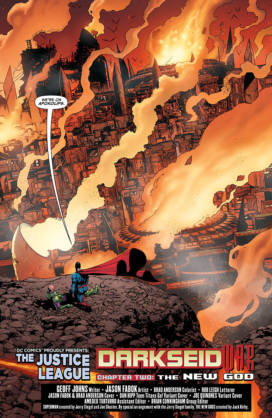 ... Justice League #42 Darkseid War 2 Spoilers Preview 4